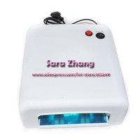 36W 220v white Professional /Uv dryer/ Uv Gel Acrylic Curing UV Lamp Nail art  free shipping