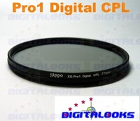 77mm Pro1D Circular Polarizer Filter Wide Slim CPL C-PL