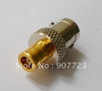 BNC female jack to SMB female jack RF adapter connector straight