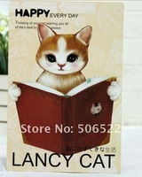 Free Shipping Wholesale 360pcs/lot Lovely Cat Design Post/Greeting Card for Decoration or gifts