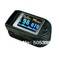 CE FDA Fingertip Pulse Oximeter Blood Oxygen Saturation Monitor, CMS50D Finger SPO2 Monitor