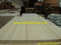 Radiata pine finger joint panel. solid panel laminating panel