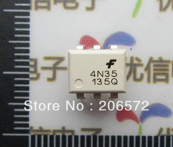 4N35 DIP-6 оптронная