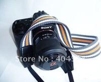 Free Shipping 50pcs Universal Mix Design Camera Shoulder Strap Belt Tape For Canon Nikon Sony Pentax Panasonic Olympus
