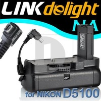 Multi-Power DSLR Vertical Battery Grip for Nikon D5100 D5200 PB017 free shipping !