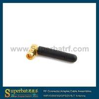 824-960Mhz 1710-1990MHz 1.5 dbi GSM Antenna SMA right angle Plug wholesale price