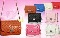 wholesale retail high quality Plaid Handbag shoulder bag Tote Satchel Designer Lady fashion brand girls popular French style
