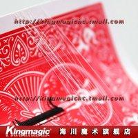 Wholesale 10pcs/lot  Invisible Thread(5 meters) Single Strong Single Elasticity Magic Tricks Magic Props Magia