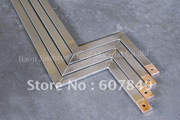 titanium claded copper flat bar material(China (Mainland))