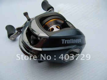 Discount 9+1BB/Black blue/Right hand Bait casting reel  Fishing reel Fishing tackle Fishing tool Good quality and free shipping