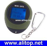 Mini Handheld Keychain mini gps tracker USB Rechargeable For Outdoor Sport Travel, 1.4inch mini tracker