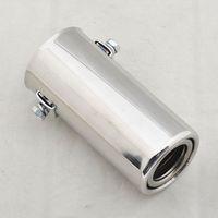 Free Shipping Universal Exhaust Muffler Tip 18-35mm Inside silencer [CP574]