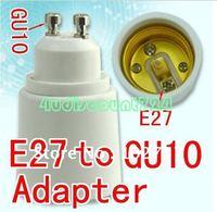 GU10 to E27 LED Halogen SOCKET CFL Light Lamp Bulbs Adapter Converter 4pcs/lot