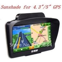 1 piece  universal sunshade sunshine shield for 4.3 inch and 5 inch car GPS navigation