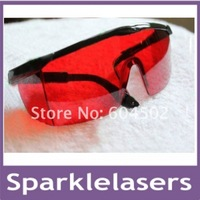 445NM Laser Safety Goggles Glasses for  blue laser/405nm violet purple laser and 532nm green laser +CARRY CASE FREE SHIPPING