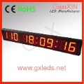 free shipping cheap hight brightnee 4inch indoor  led digital countdown time display