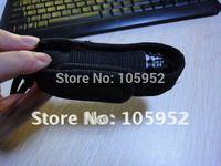 Free shipping black Nylon torch Holster /LED Flashlight Holster  50pcs/lot