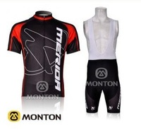 2012 new Monton MERIDA team cycling/bike jersey+3D pad BIB shorts set / wear/ clothes
