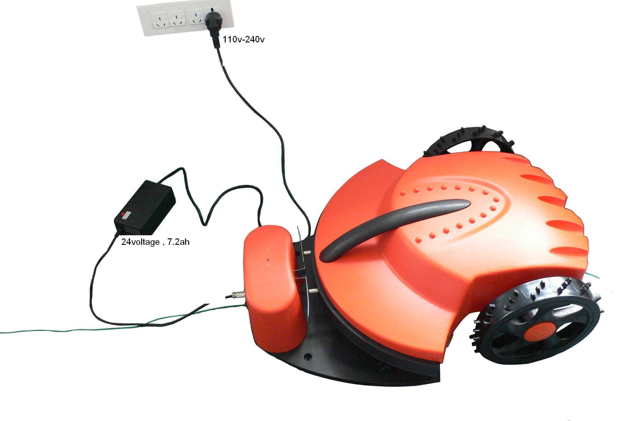 Virtual Wire 100m,Auto Mower +CE&ROHS+Li-ion Battery+Auto recharged+Free Shipping(China (Mainland))