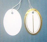 EMS Free Shipping 3500 pcs Label Tie price Tag Jewellery Display 12mmX23mm LA4