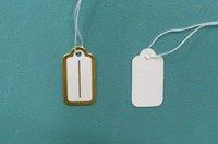 Free Shipping 500pcs Label Tie price Tag Jewellery Display 13mmX25mm LA7