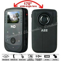 Freeshipping, 170 Degrees Ultra Angle HD 720P Mini Sport DV Support Touch Keypad + RC