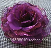15 colors headdress flower free shipping bouquet/Brooch/bobby pin flower/hair pin/rose elastic hairband/head flower  NB783722