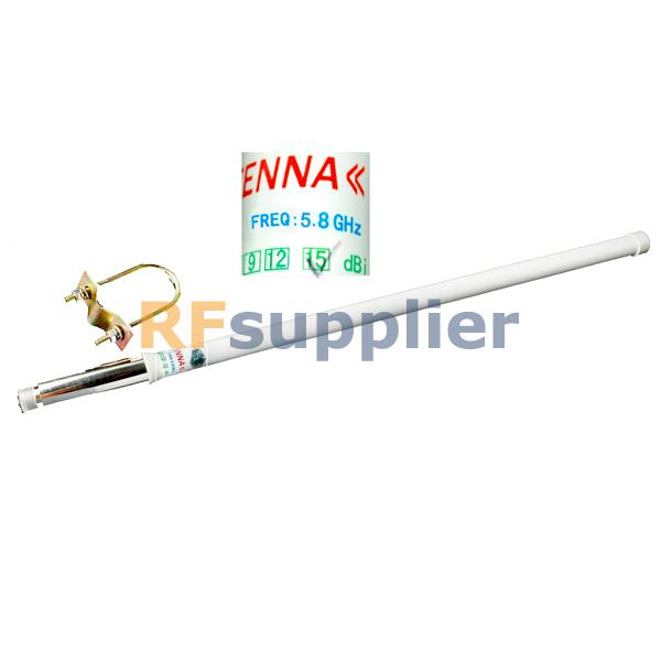 5.8GHz 15dBi Omni WIFI Outdoor Antenna N female(China (Mainland))