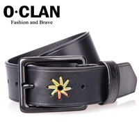 S.C Free Shipping + Best Sell + Fashion Jean Belt + Wholesale Leather Belts + Western Cowhide Belt MBL110801-1