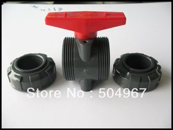 "hot sale PVC turnnion ball valve 2-1/2""(China (Mainland))"