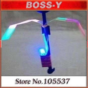 chlidren Novelty Toy flying Flashing LED Arrows, kids Arrows flying toy ,rocket parachute ,50 pcs / lot