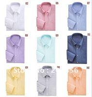 Wholesale&retail -autumn new 2011  Men's Shirts cotton Brand new Men's long sleeve shirt fashion shirts E2011013 free shipping