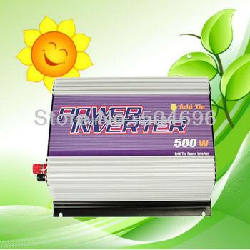 500w solar grid tie inverter for solar panel system,DC 22v-60v AC220V/230V/240V  with MPPT function