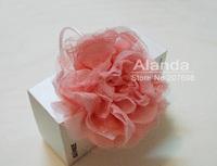 """12pcs/lot, 5"""" fashion handcrafted lace chiffon flower headband AJB-0027, free shipping (pink, grey, black, khaki)"""