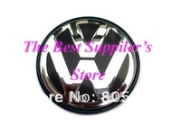 100pcs Free Shipping UItra-high Quality VW VOLKSWAGEN 3D Chrome Wheel Center Cap GOLF JETTA PASSAT LUPO POLO 65MM