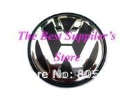 100pcs Free Shipping UItra-high Quality VW VOLKSWAGEN 3D Chrome Wheel Center Cap GOLF JETTA PASSAT LUPO POLO 65MM