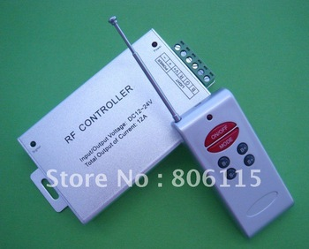 Audio RF Controller for RGB LED strip light DC 12V - 24V wireless controller