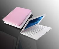 """FREE SHIPPING, 10.2"""" Mini Laptop WiFi Windows CE 6.0 and Android 2.2 OS Netbook,VIA 8650 ultrathin netbook,Christmas gifts"""