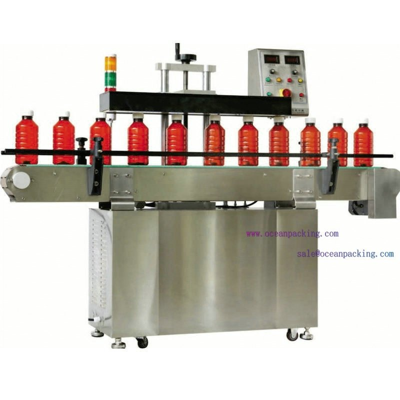 high speed automatic bottle seal machine with water cooling system(China (Mainland))