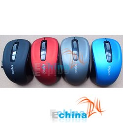 2.4Ghz Mini Laptop Wireless Mouse Mice With USB Nano Recevier Fashion Stylish Brand New Wholesale and Freeshipping 50 pcs