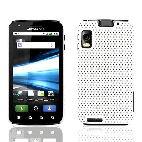 free shipping,Hot Selling Ultra-thin mesh case/grid net cover case for Motorola Atrix 4G MB860(China (Mainland))