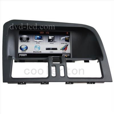 wholesale Volvo XC60 radio car dvd player GPS Navigation Bluetooth Ipod HD LCD head units(China (Mainland))