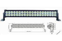 "hot selling 20"" 120W 8500LM P67 off road LED light bars ATV OFF ROAD 4WD UTV SUV boat truck"