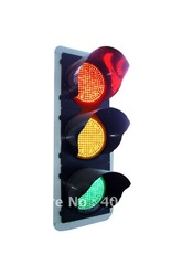 large supply LED solar square traffic signal light(China (Mainland))