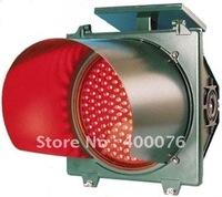 LED solar red flash alarm signal traffic light