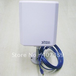 Signal King 8TN usb wifi antenna outdoor with directional 20dbi flat panel antenna 150Mbps