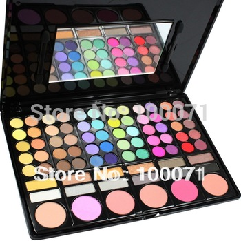 2013 Fashion Special Hot Sale New Pro 78 Color Free Shipping Makeup Cosmetics Palette Eye Shadow#2550