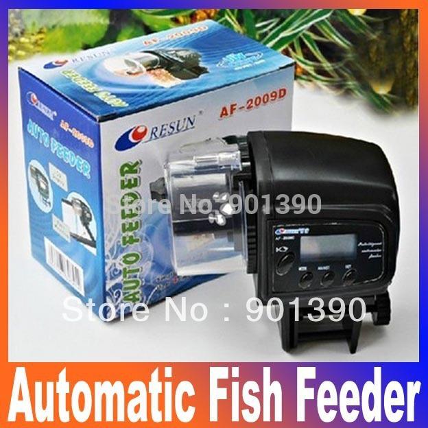 Потребительские товары Tank Food Feeder LCD , acuario alimentador  AF-2009D автокормушка для рыб resun af 2009d