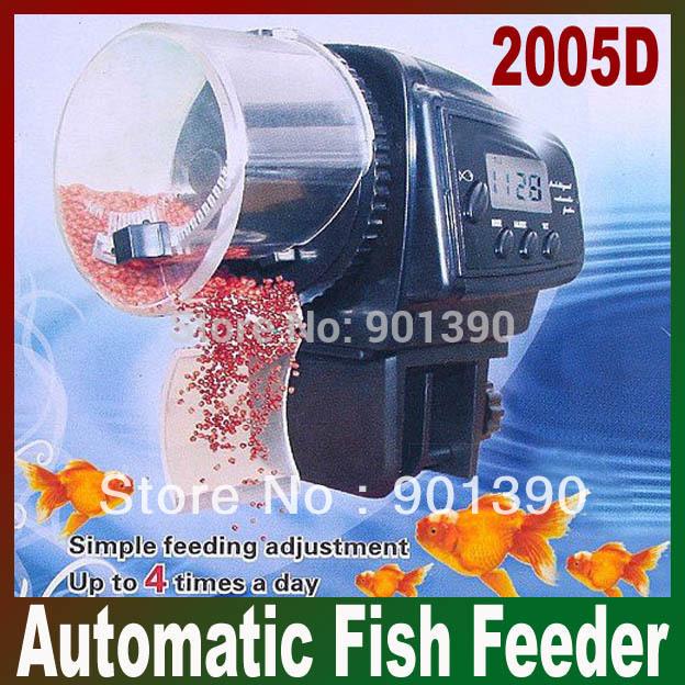 Потребительские товары Tank Food Feeder LCD Auto AF /2005d AF-2005D yamaha pneumatic cl 16mm feeder kw1 m3200 10x feeder for smt chip mounter pick and place machine spare parts