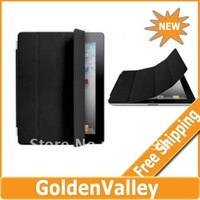 $10 off per $300 order Magnetic Polyurethane Slim Smart Cover case for iPad 2 ipad 2 2nd ipad2 2g wholesale+Free shipping